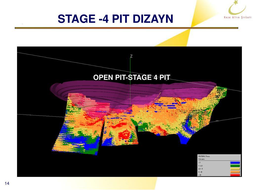 STAGE -4 PIT DIZAYN