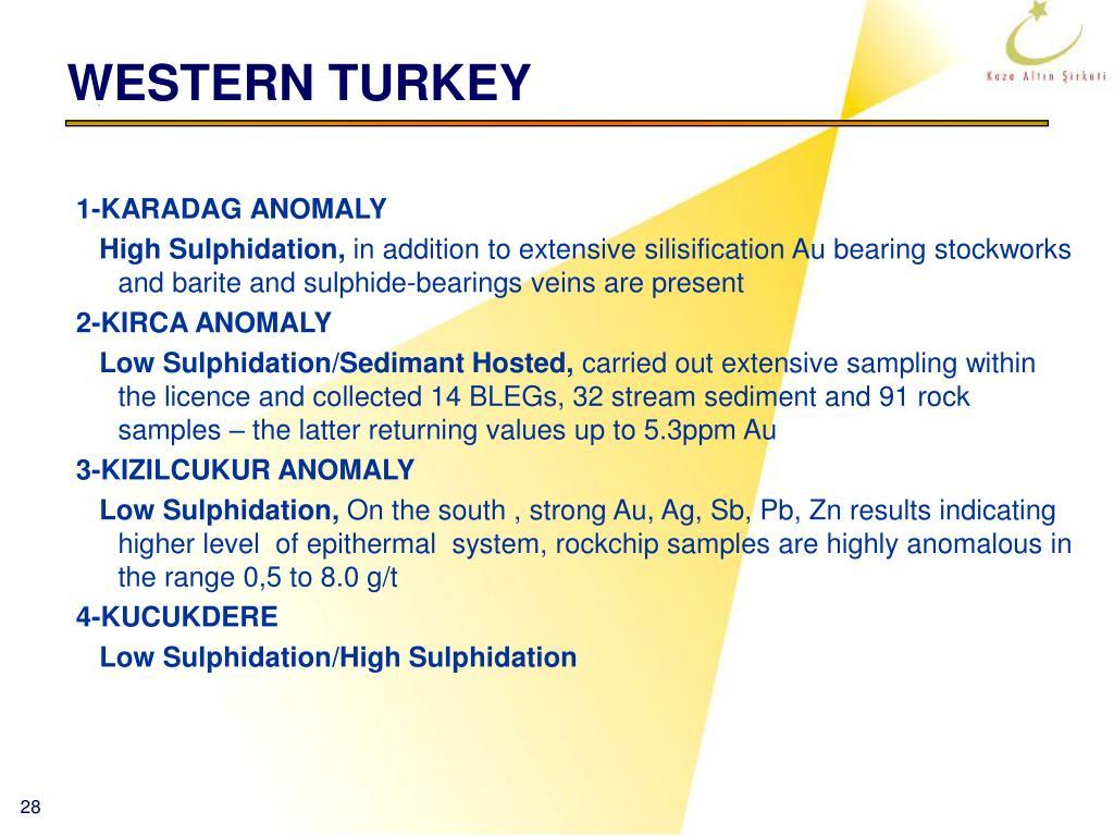 WESTERN TURKEY