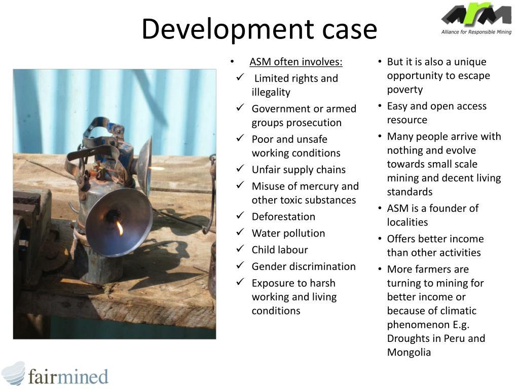 Development case