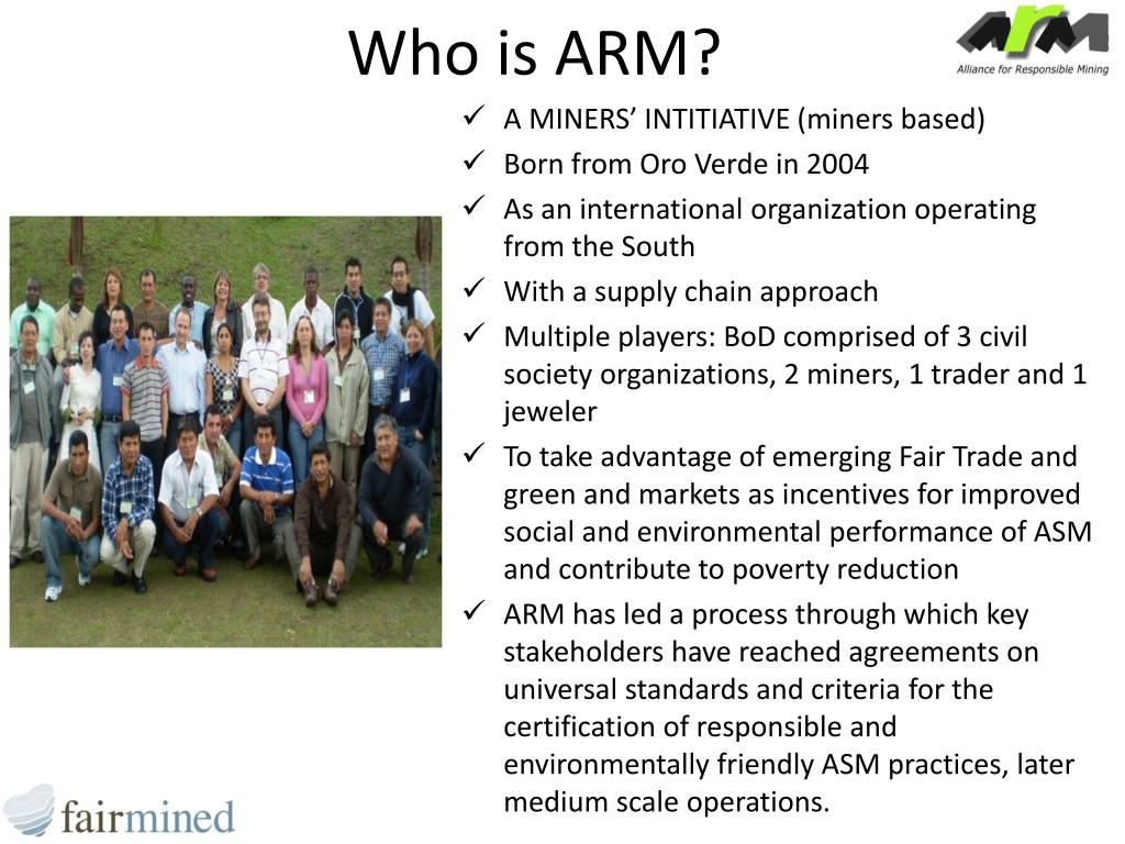 Who is ARM?