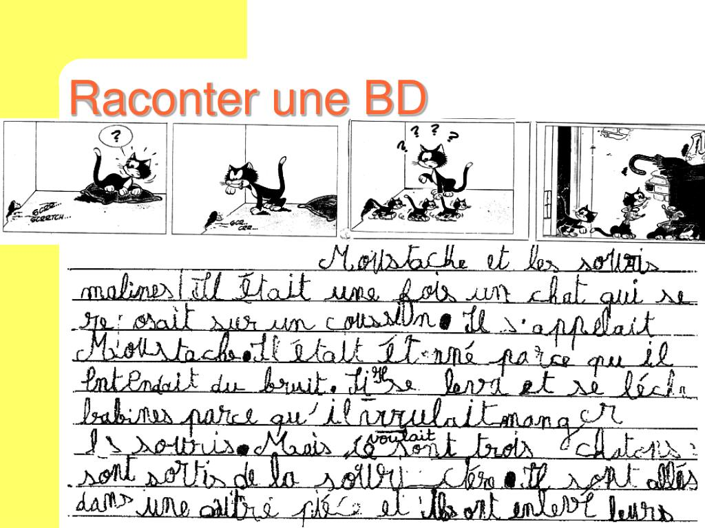 Raconter une BD