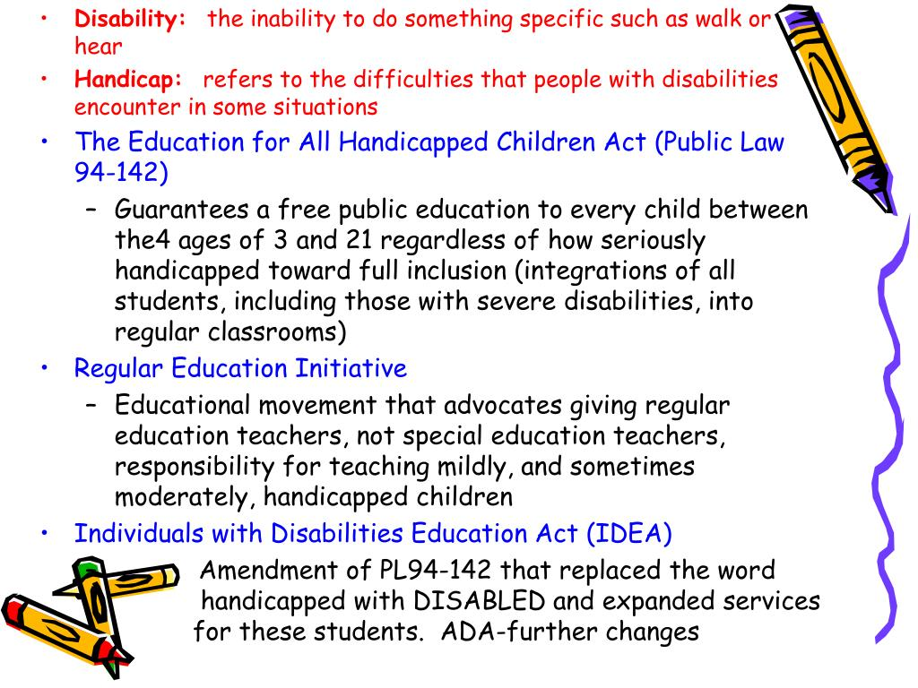 an argument against the inclusion of disabled children into regular classrooms How inclusion can benefit special needs children disability inclusion helps children needs children who attend regular classes will be.