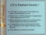 ltz is elephant country