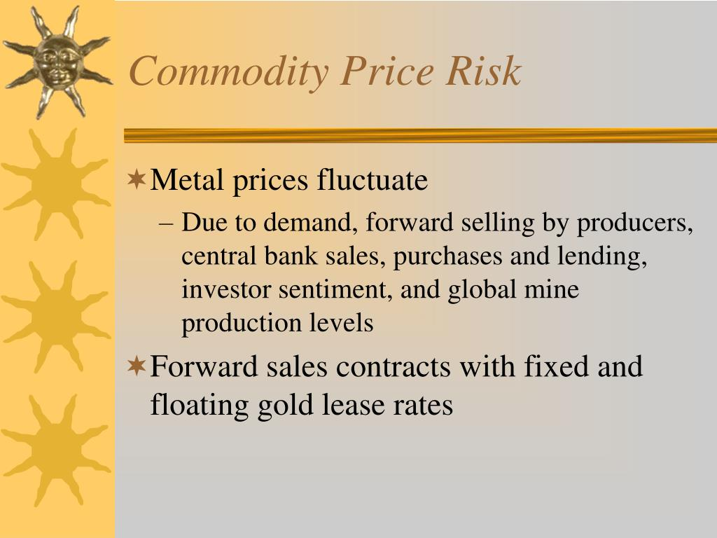 Commodity Price Risk