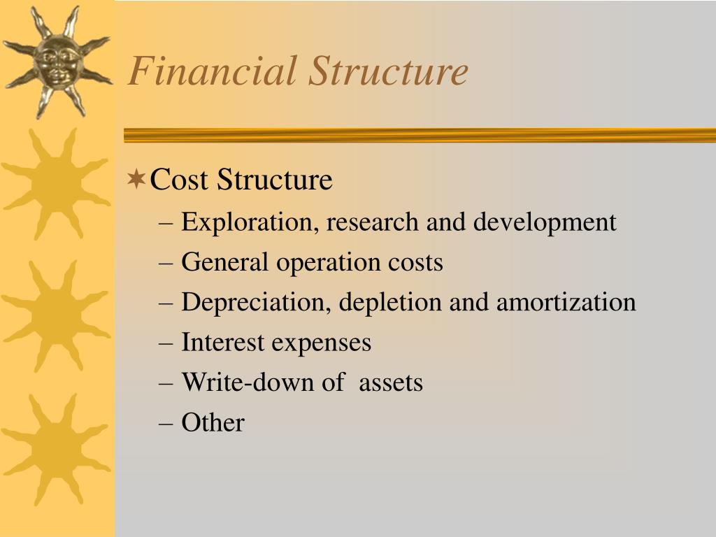 Financial Structure