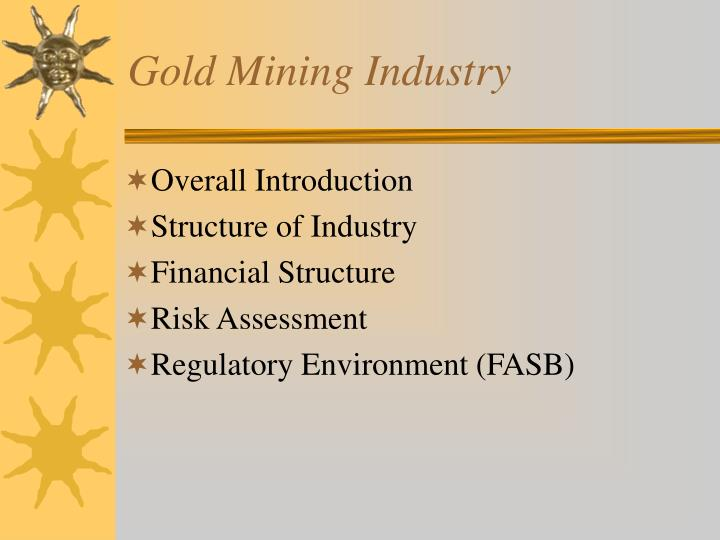 Gold mining industry2