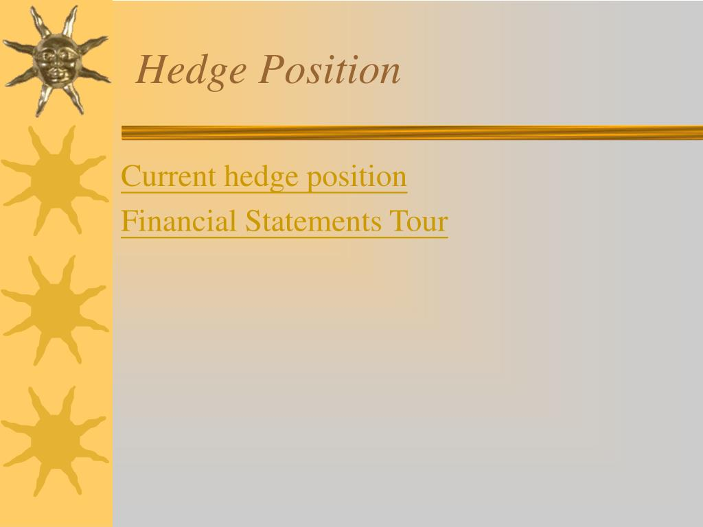 Hedge Position