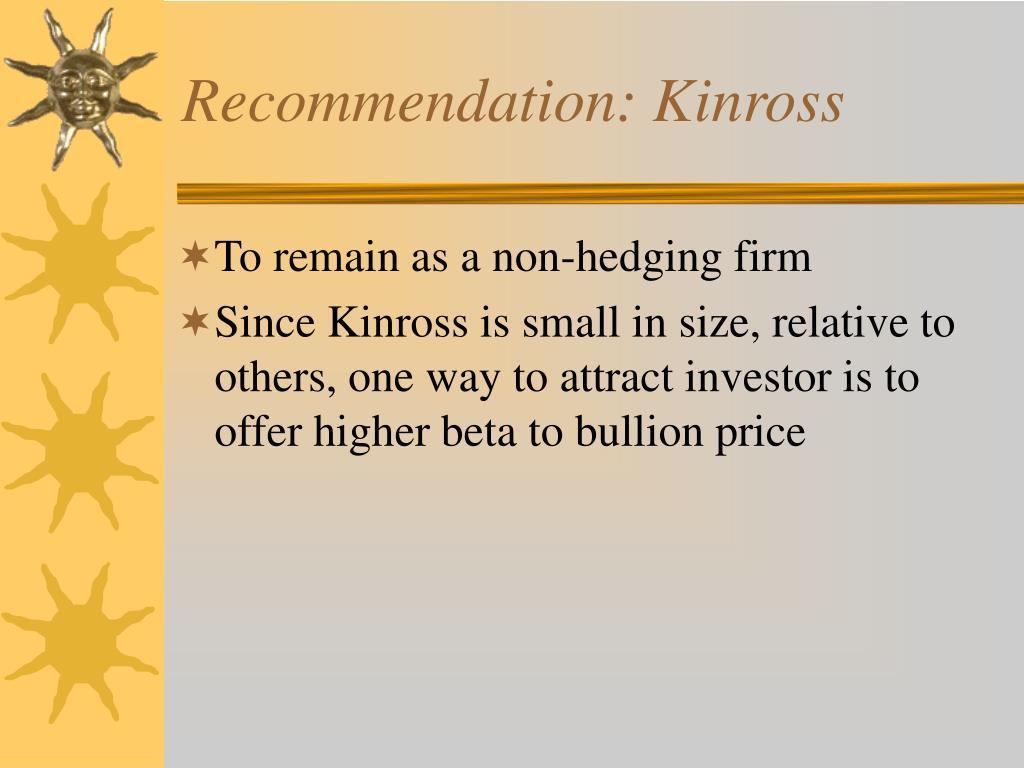Recommendation: Kinross