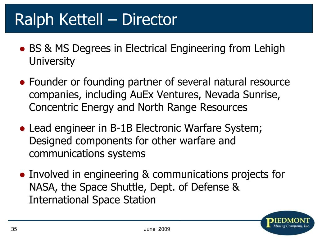 BS & MS Degrees in Electrical Engineering from Lehigh University