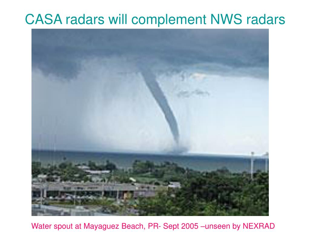 CASA radars will complement NWS radars
