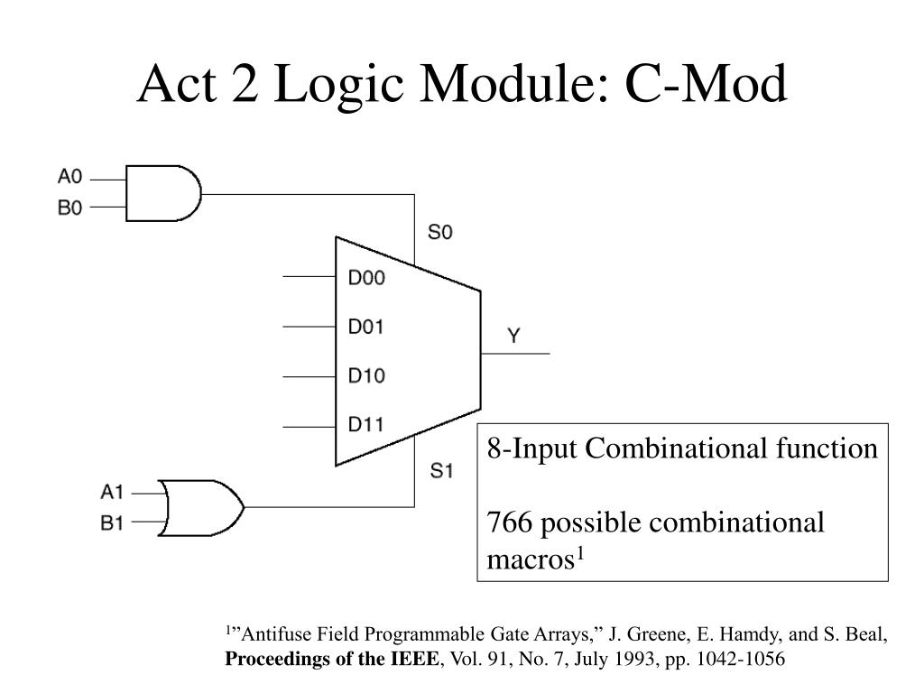 Act 2 Logic Module: C-Mod