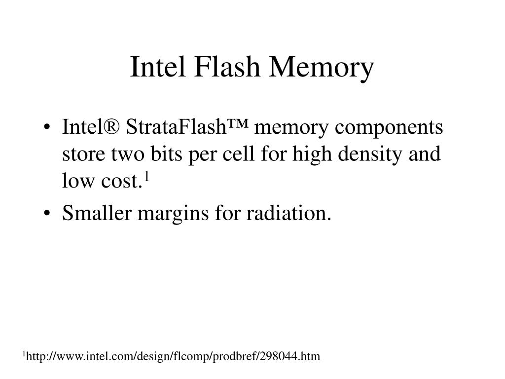 Intel Flash Memory