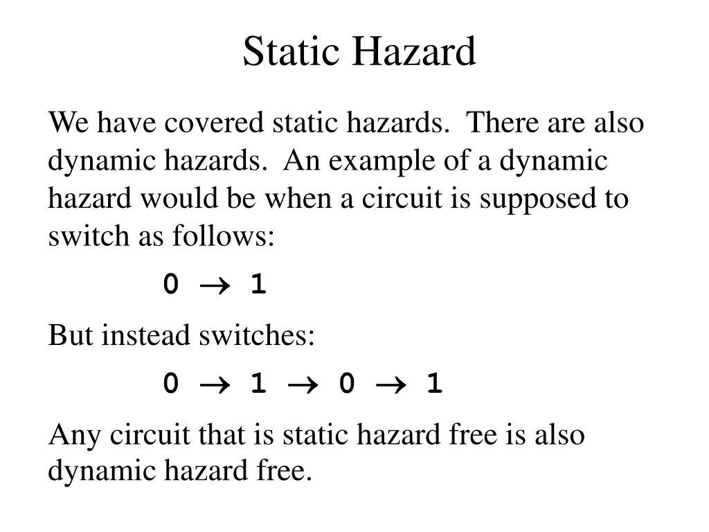 Static Hazard