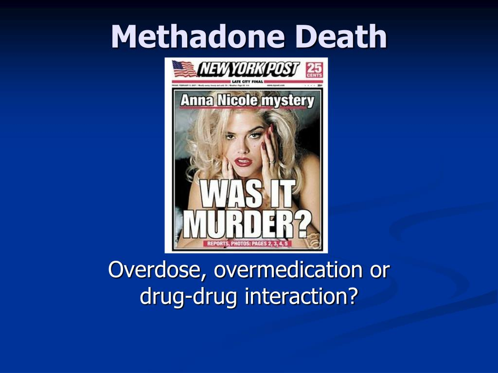 Methadone Death