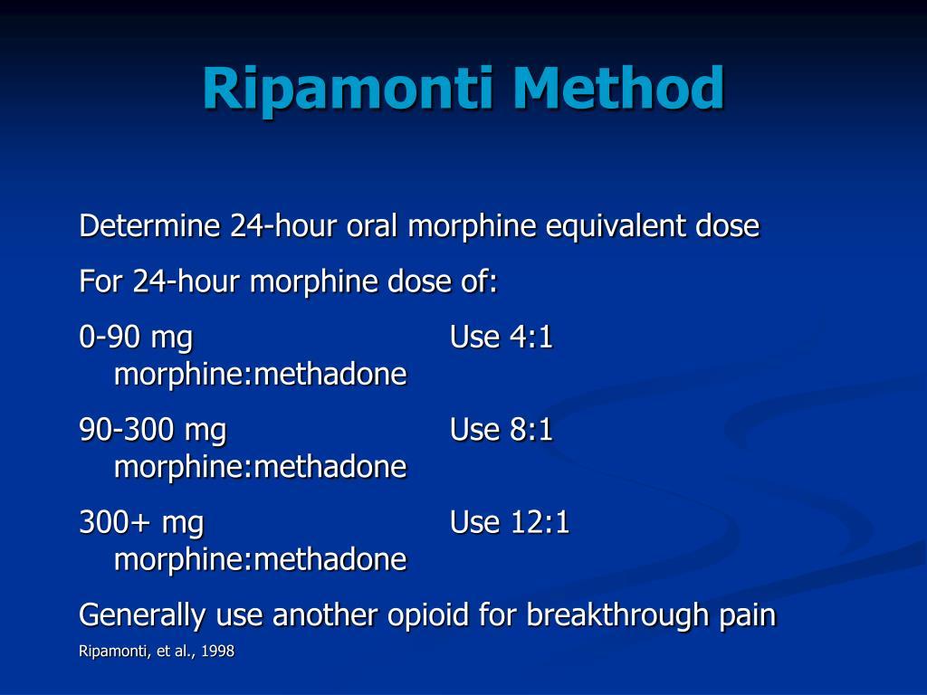 Ripamonti Method