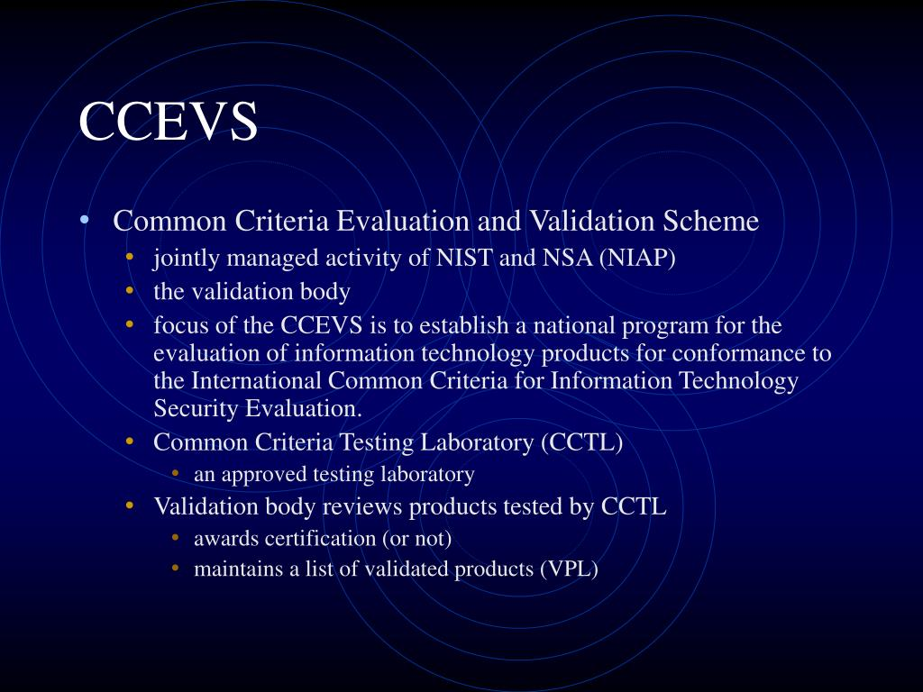 CCEVS