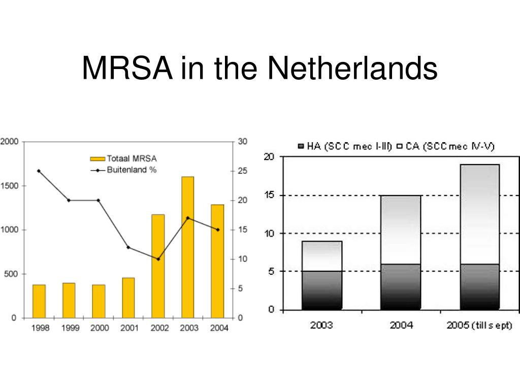 MRSA in the Netherlands