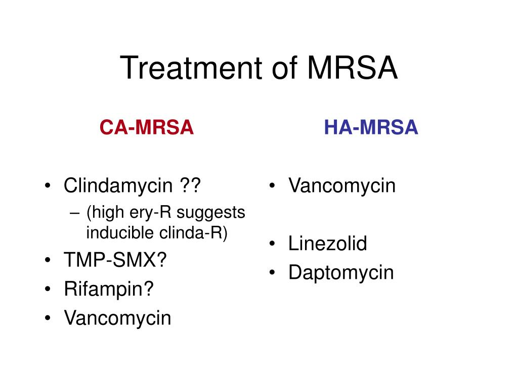 All you need to know about MRSA