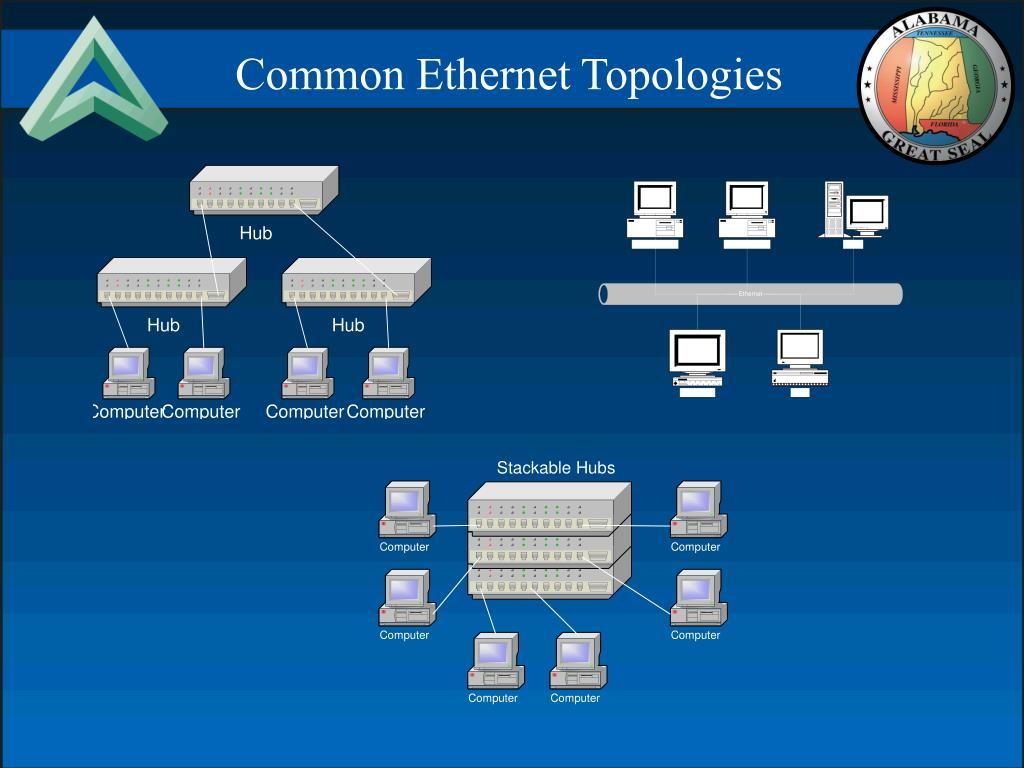 Common Ethernet Topologies