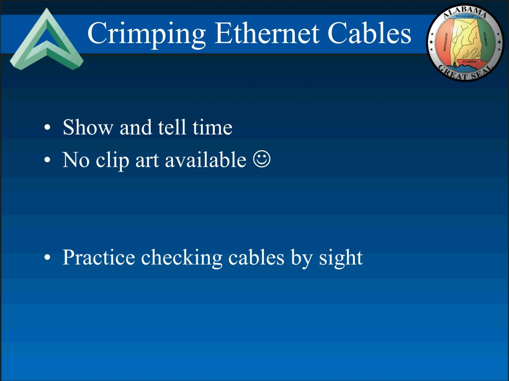 Crimping Ethernet Cables