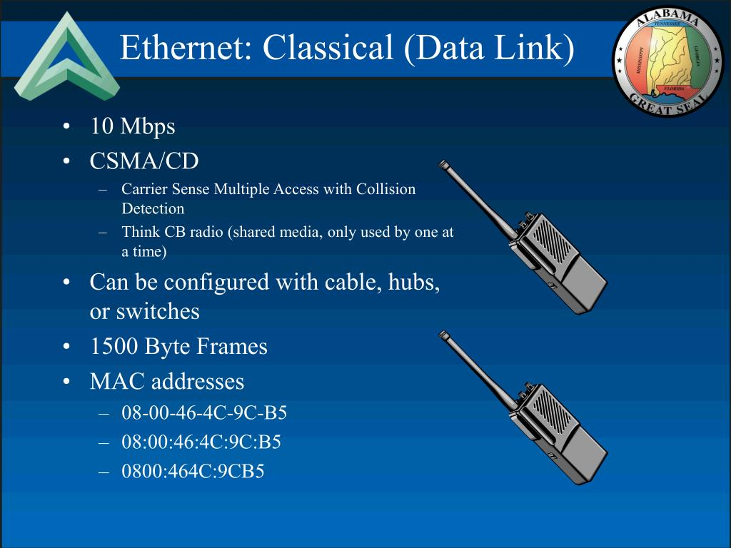 Ethernet: Classical (Data Link)