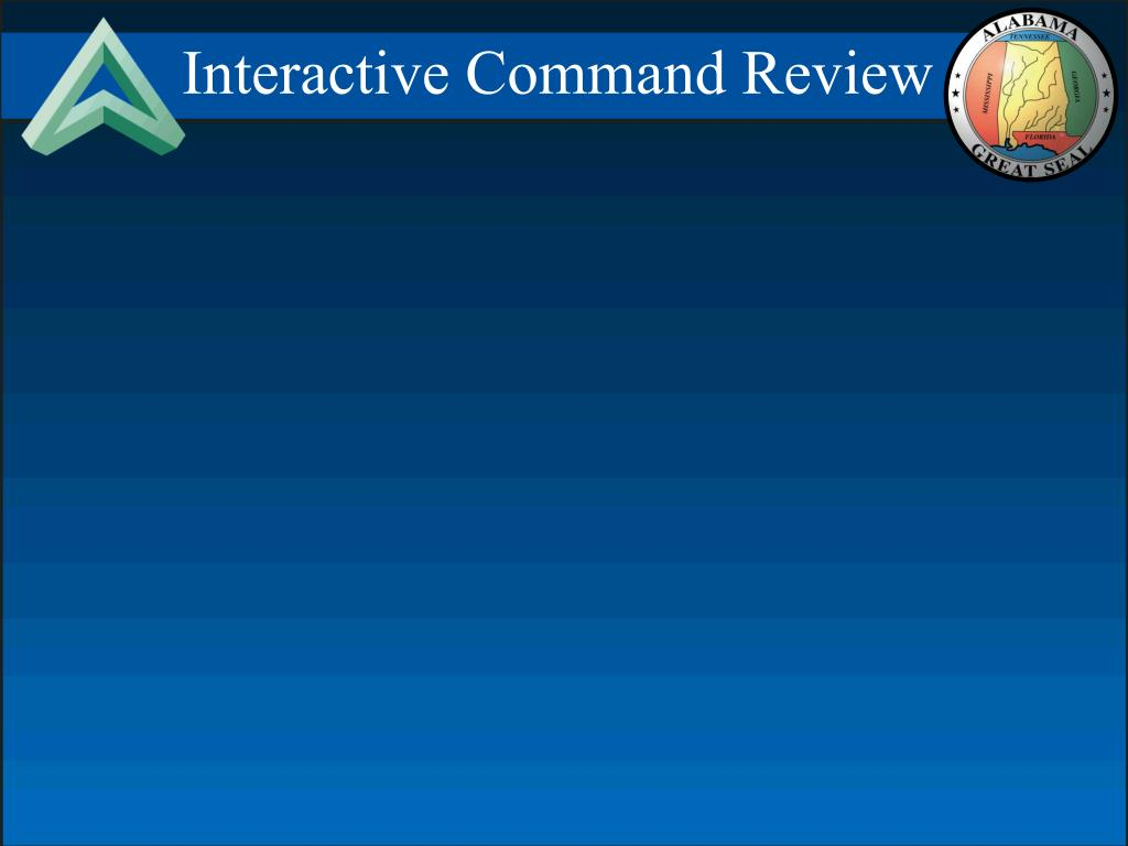 Interactive Command Review