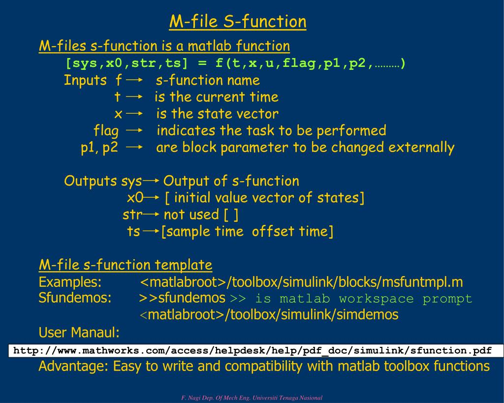 M-file S-function