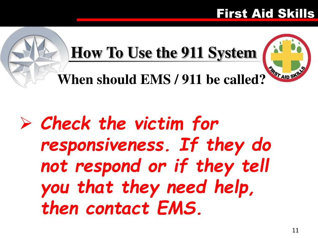 How To Use the 911 System