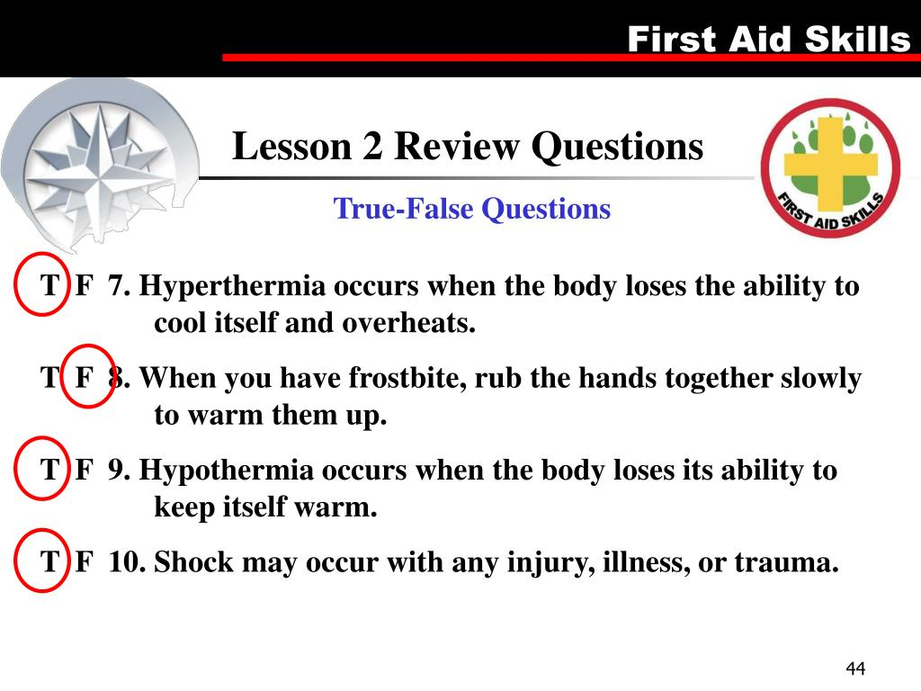 Lesson 2 Review Questions