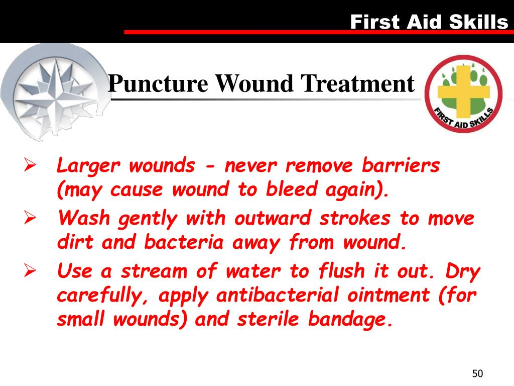 Puncture Wound Treatment