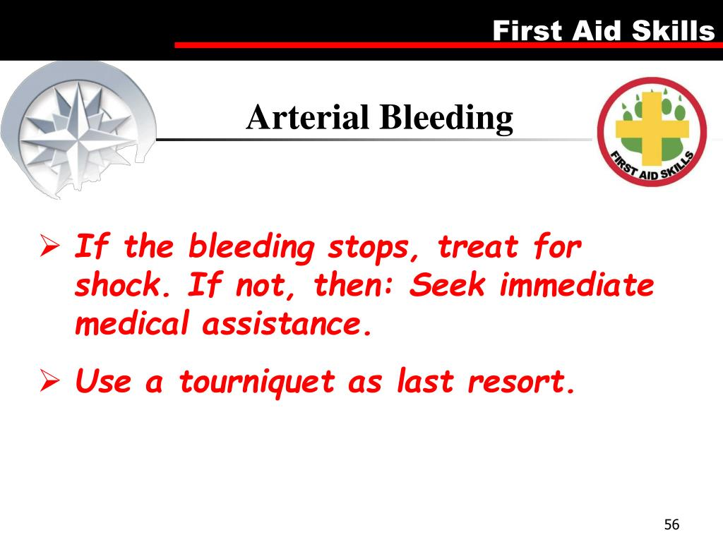 Arterial Bleeding