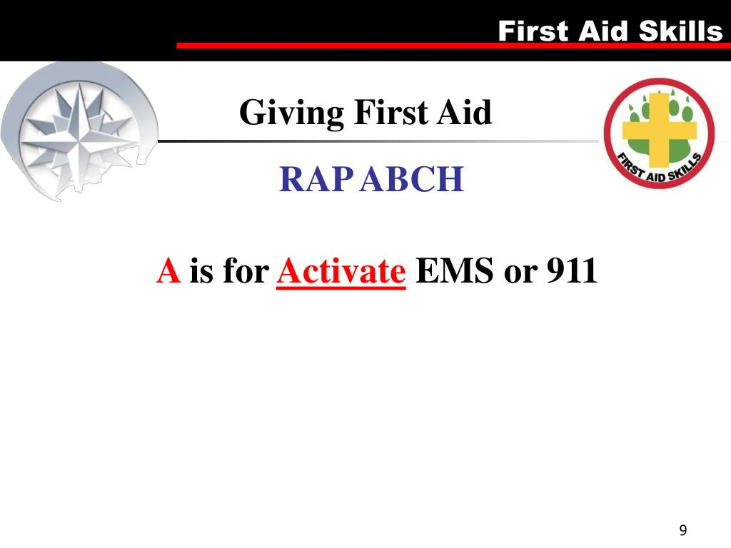 Giving First Aid
