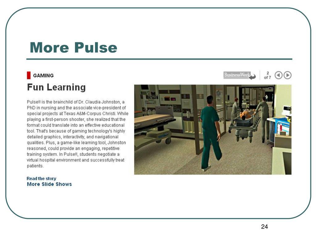 More Pulse