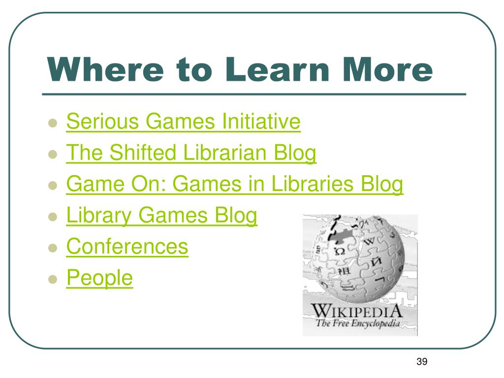 Where to Learn More