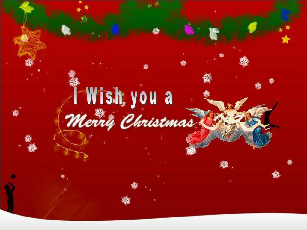 I Wish you a