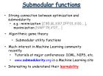 submodular functions39