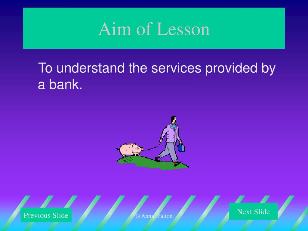 Aim of Lesson