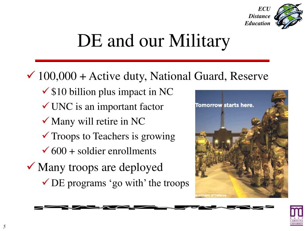 DE and our Military