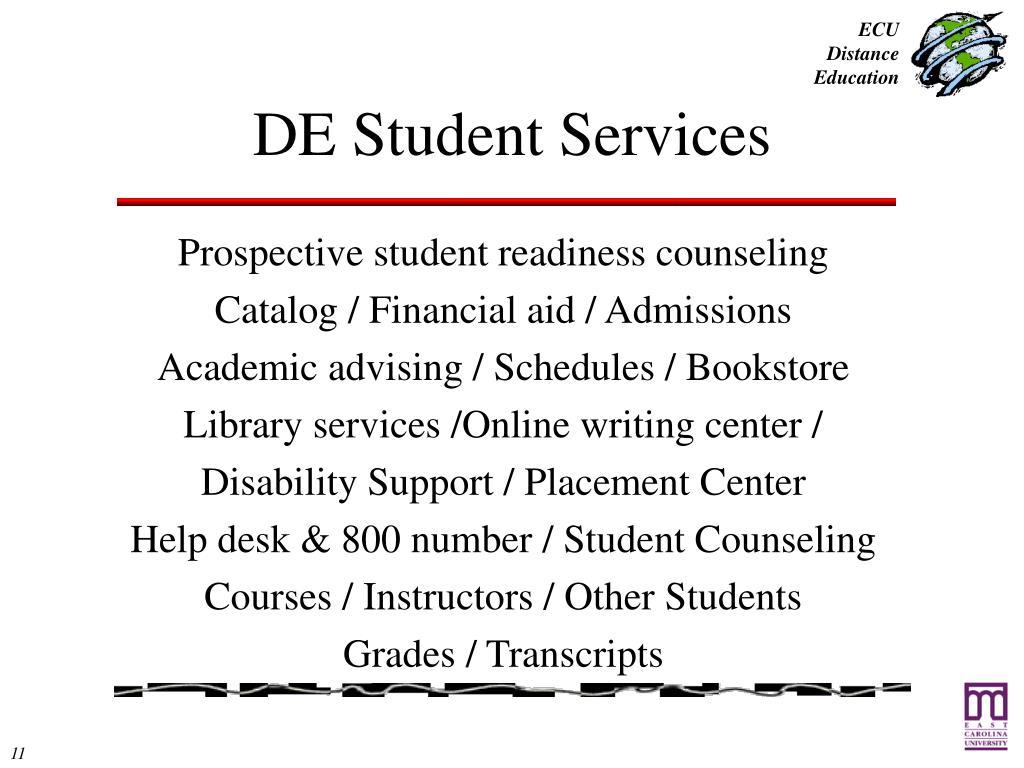 DE Student Services