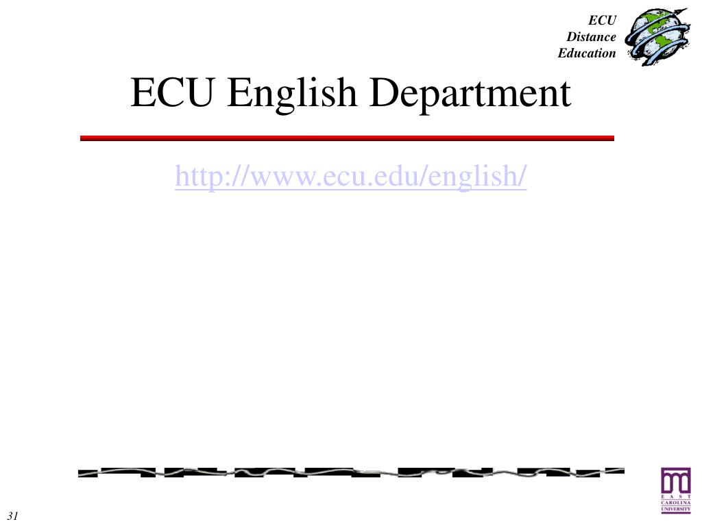 ECU English Department