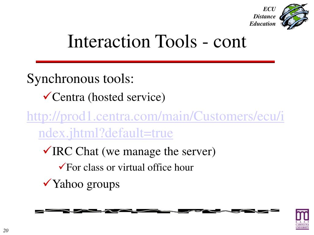 Interaction Tools - cont