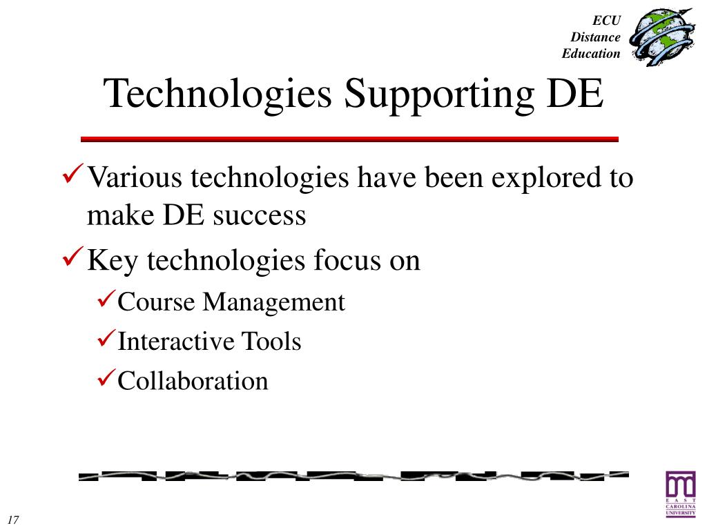 Technologies Supporting DE