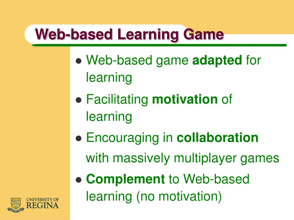 Web-based Learning Game