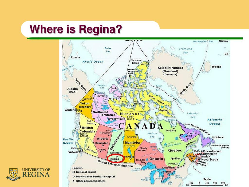 Where is Regina?