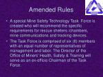 amended rules11