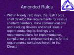 amended rules12