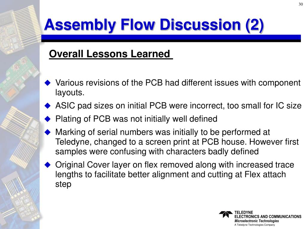 Assembly Flow Discussion (2)