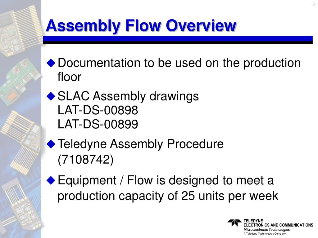 Assembly Flow Overview