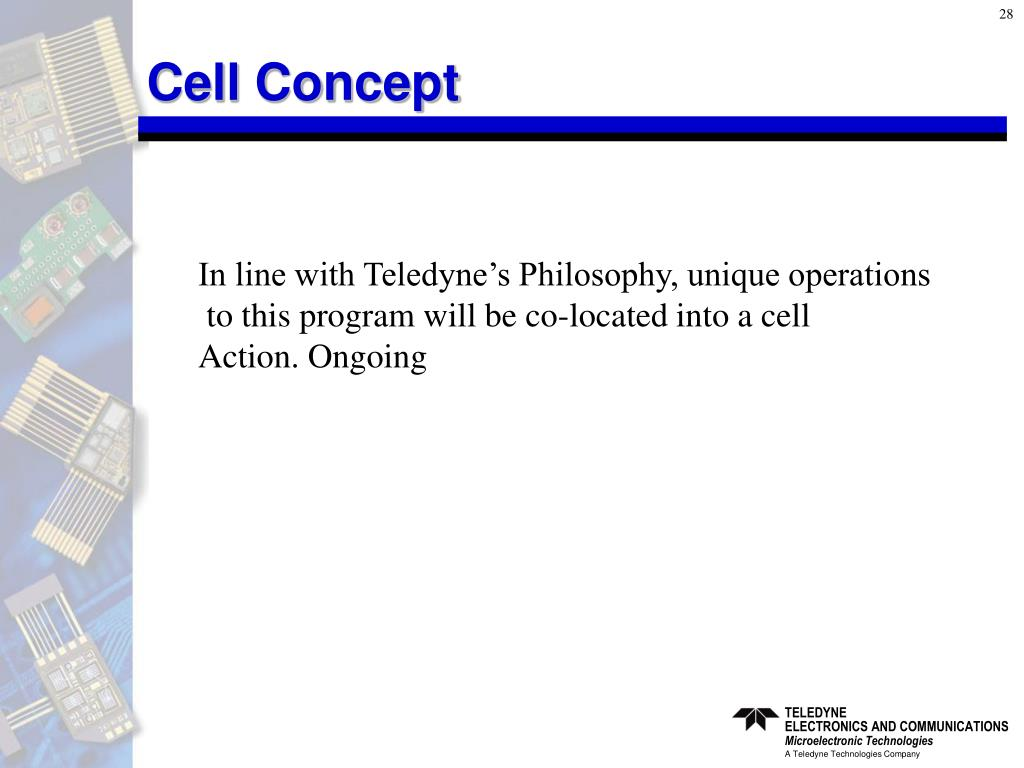 Cell Concept