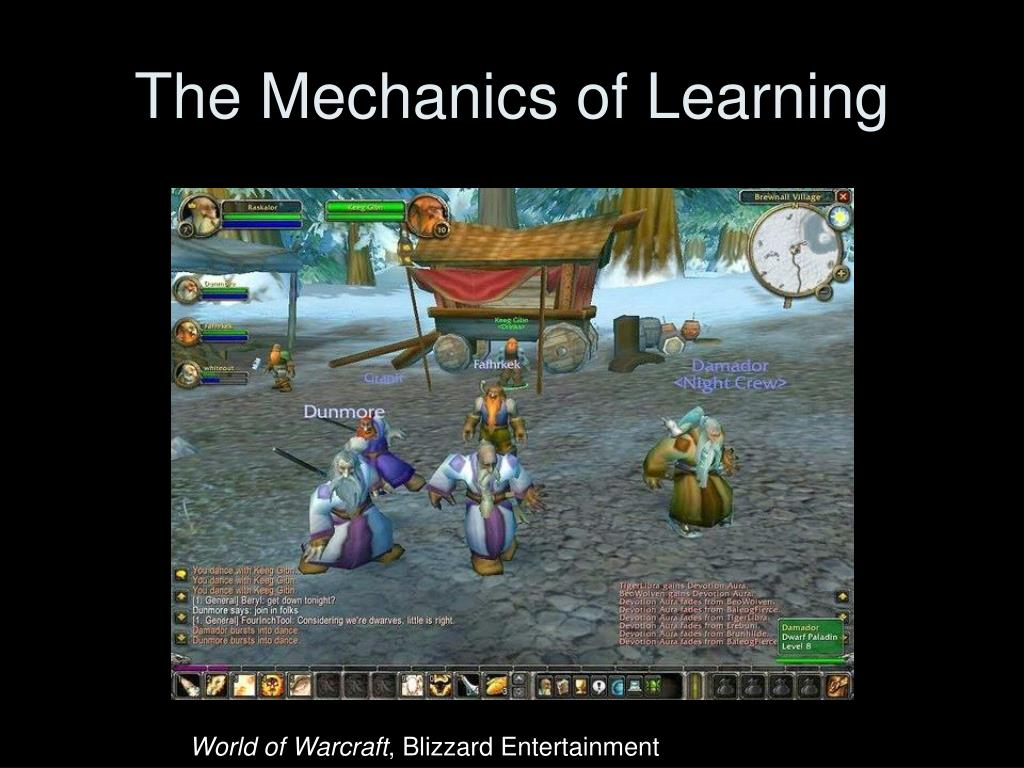 The Mechanics of Learning